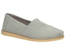 Alpargata Crepe Slippers Women drizzle grey washed canva