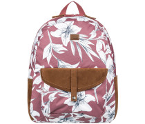 Carribean Backpack withered rose lily house