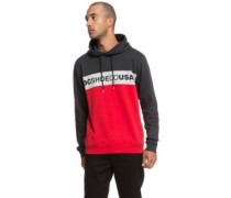 Middle Hoodie tango red