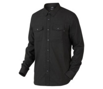 Adobe Shirt LS jet black heather