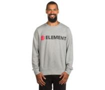 Horizontal Crew Sweater grey heather