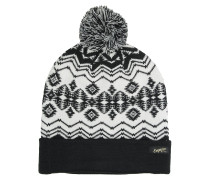 Stay Golden Pom Beanie white