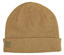 The Harbor Beanie heather mustard