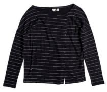 Dream Taste T-Shirt LS anthracite pencil stripe