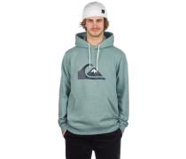 Big Logo Hoodie stormy sea heather