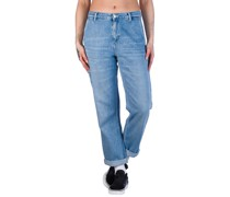 Pierce Jeans light stone washed