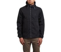 Howard Hooded Jacket black