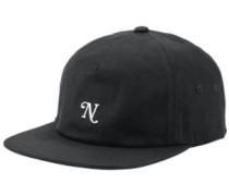 Yorker Snapback Cap black