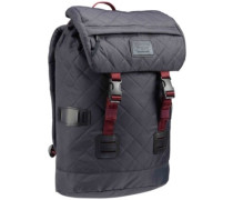 Tinder Backpack faded quilted flight satn