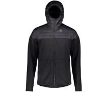 Defined Channel Flow Outdoor Jacket black