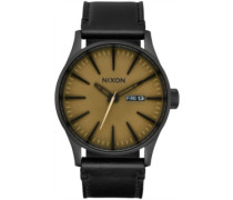 The Sentry Leather black