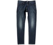 Worker Straight Jeans medium stone