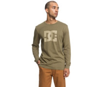Star T-Shirt LS burnt olive