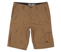 Scheme Submersible Shorts brown