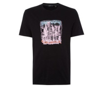 Tiki Surf T-Shirt black out