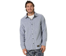 Spillway Fleece Shirt LS gray heather