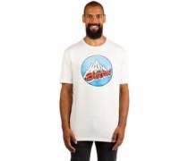 Retro Mountain T-Shirt stout white