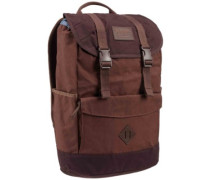 Outing Backpack cocoa brown wxd cnvs