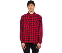 Rock Hall Shirt LS fiery red