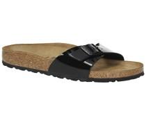 Madrid Sandals bf schwarz lack
