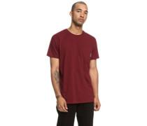 Basic Pocket T-Shirt cabernet