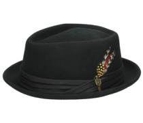 Stout Pork Pie Hat black