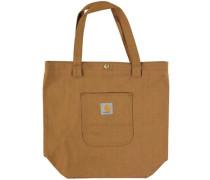 Simple Tote Bag carhartt brown