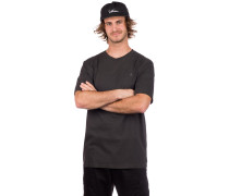 Solid Stone Emb T-Shirt black