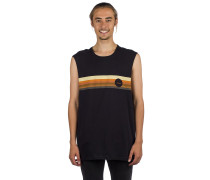 Serape Muscle Tank Top black