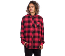 Longview Lighweight Flannel Shirt LS rio red