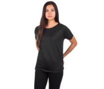 Mesh Back Hybrid T-Shirt black out