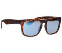Squared Off Tortoise Shell royal blue mirror