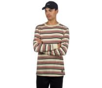Recon Striped T-Shirt LS tan stripes