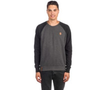 The Jordan Rules Sweater anthracite melange black