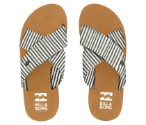 Boardwalk Sandals black white