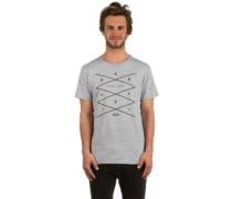Grid T-Shirt heather grey