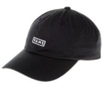 Curved Bill Jockey Cap black