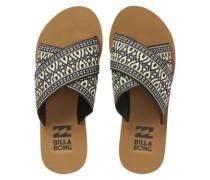 Surf Bandit Sandals Women black white