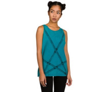 Rookery Rope Tank Top ocean depths