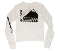 Sea Mount T-Shirt LS antique white