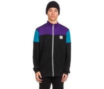 Blow Up Trainer Jacket dark purple