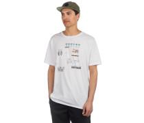 Cut It Up -Shirt white