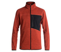 Raven Fleece Jacket ketchup red