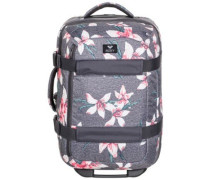 Wheelie 2 Travelbag charcoal heather flower f