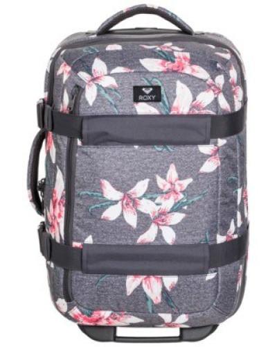 Wheelie 2 Travelbag charcoal heather flower f