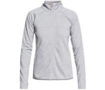 Harmony Shimmer Fleece Jacket warm heather grey