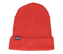 Fishermans Rolled Beanie rincon red