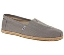 Alpargata Slippers grey linen
