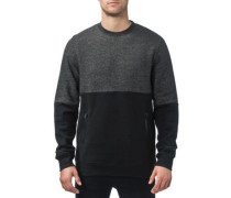 Dusted Crew Sweater black fleck