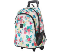 Wh Proschool Flora Backpack white